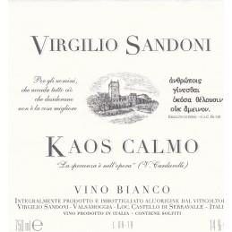 """vino bianco """"kaos calmo"""""""
