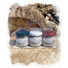 Tris di sali aromatizzati